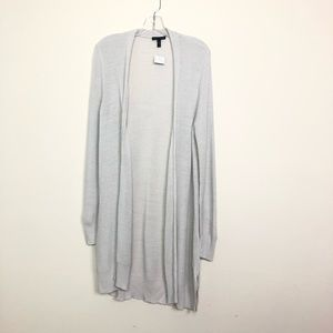 Eileen Fisher cardigan long cashmere off white S